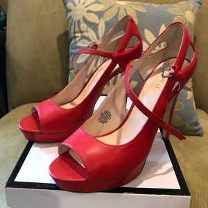 Nine West Red Stilettos